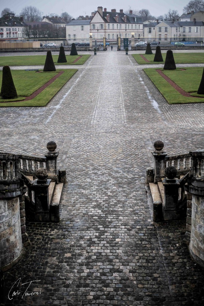 Chateau Front Steps